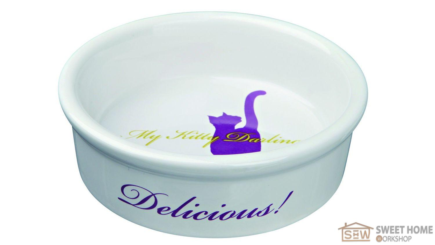 Trixie ceramic dish for cats, 0,2l